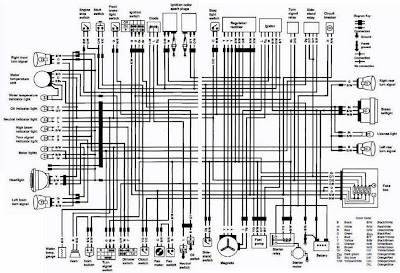 how to read simple wiring diagrams push mower diagram suzuki vs800 intruder motorcycle 1992 complete electrical (us and canada) | all ...