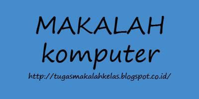 Contoh Makalah Topologi Jaringan Komputer