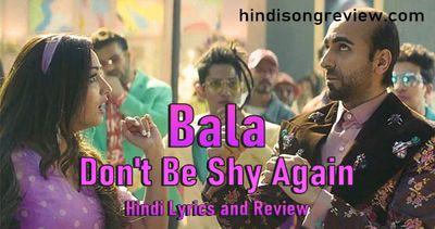 Don't Be Shy Again (Badshah, Shalmali Kholgade, Gurdeep Mehendi & Sachin-Jigar)