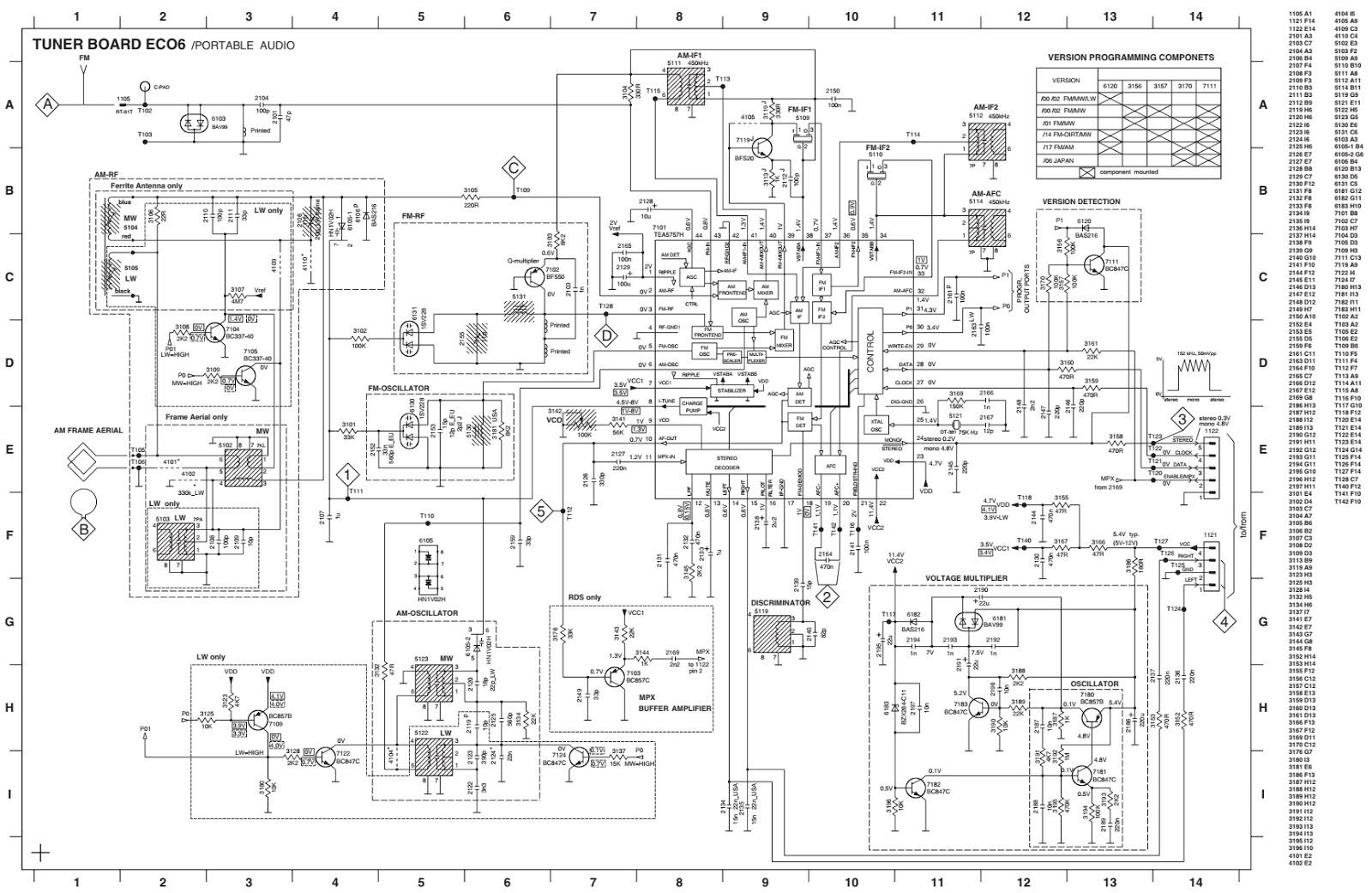 Electronic Inspirations Philips Az Schematic