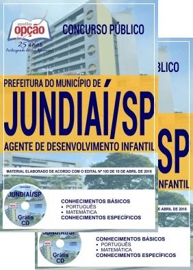 Apostila da Prefeitura do Jundiaí - Agente de Desenvolvimento Infantil