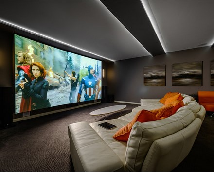 How To Decor Home Entertainment Or Media Room? - Inspiring Interior Design Ideas