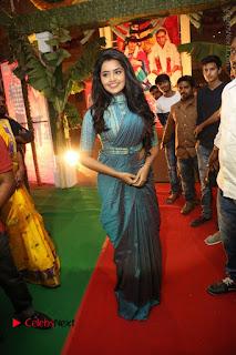 Actress Anupama Parameswaran Stills in Stylish Saree at Shatamanam Bhavathi Audio Launch  0043.JPG
