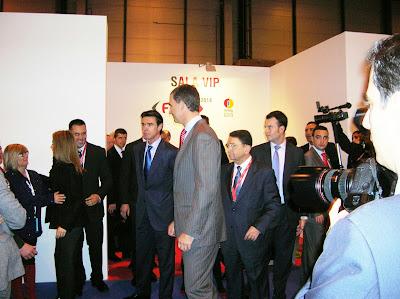 Reyes de España, Fitur, Feria intenacional de turismo, Madrid, La vuelta al mundo de Asun y Ricardo, round the world, mundoporlibre.com