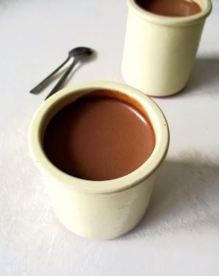 Crème Dessert au Chocolat Noir & à l'Orange