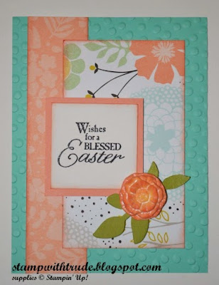 Mojo Monday, floral, Easter, Stamp with Trude, Stampin' Up!