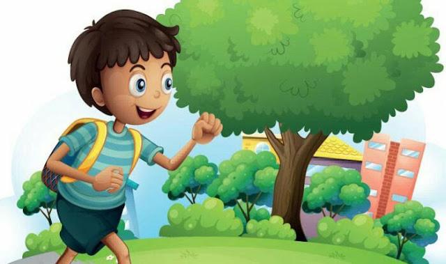 बस पाँच मिनट में उठता हूँ - Hindi story for class 2 with moral