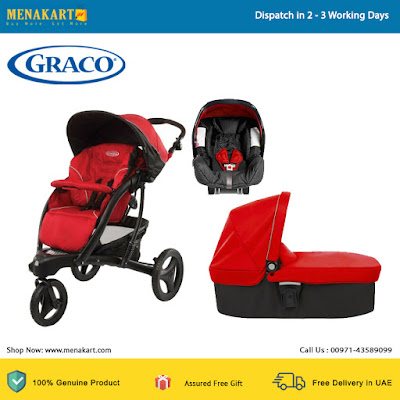 Graco Trekko Chilli Baby Stroller Red (1808698)