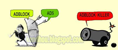 Adblock versus Adblock KIller
