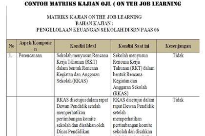 Download Contoh OJL Untuk Calon Kepala Sekolah Lengkap