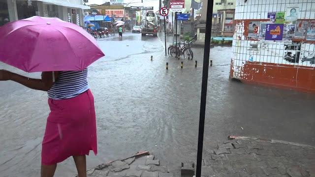 Atenção: Apac emite alerta de chuvas fortes para as próximas 24h