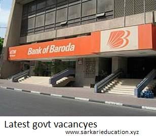 new bank jobs bank of baroda