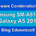 Firmware Samsung Combination Files SM-A510FD A5 2016