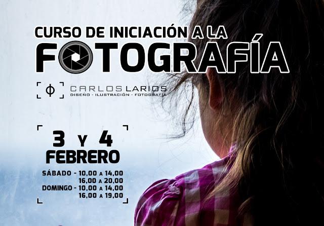 Curso presencial de Iniciación a la Fotografía - 3 y 4 de febrero de 2018
