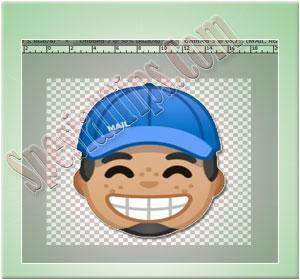 Tahap Membuat Gambar Stiker WhatsApp
