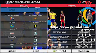 Download FTS Mod AFC CUP 2018 by Izuwan Apk + Data Obb