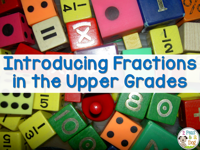 Introducing fractions to upper grades and middle school students does not have to be boring. Try this fun idea for starting or ending your fractions unit.