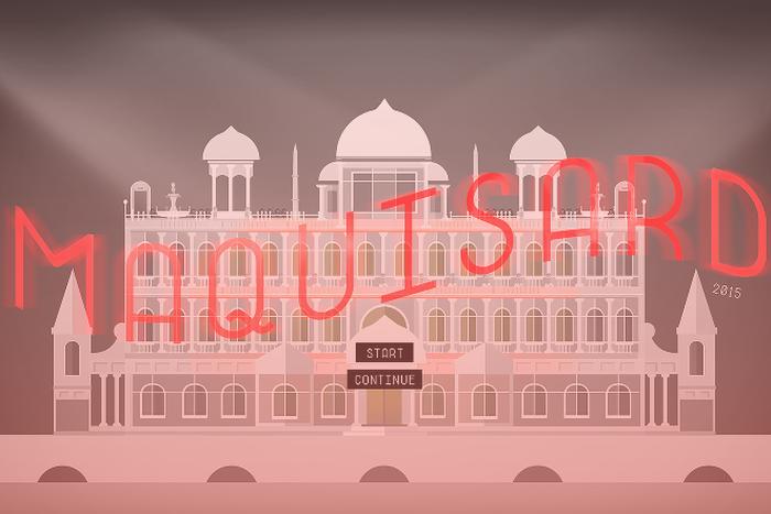 videogioco gratuito  ispirato al Gran Budapest Hotel di Wes Anderson