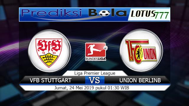 Prediksi VfB Stuttgart vs FC Union Berlinb Jumat 24 Mei 2019 01:30