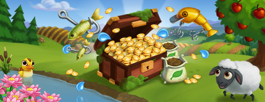 fishing SunkenTreasureMOTD 2b344b44ef3675f368b32d68fe032371 FarmVille 2: The Sunken Treasure Chest