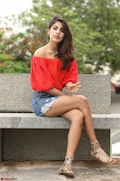 Rhea Chakraborty in Red Crop Top and Denim Shorts Spicy Pics ~  Exclusive 046.JPG