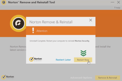 Reinstall and Uninstall Norton Antivirus Program
