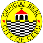 Magellan's Cross on the Official Seal of Cebu City, Philippines
