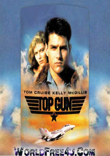 Poster Of Top Gun (1986) In Hindi English Dual Audio 300MB Compressed Small Size Pc Movie Free Download Only At worldfree4u.com