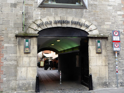 Free Silk-Screen Shirt, Old Jameson Distillery, Dublin, Ireland