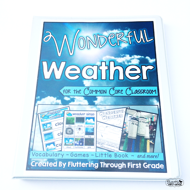Weather lessons for the primary classroom