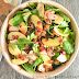 Fuji Apple Spinach Bacon Salad With Creamy Honey Mustard Vinaigrette
