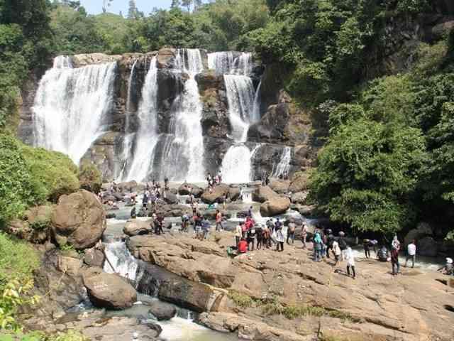 Tempat Wisata alam lembang Curug Malela