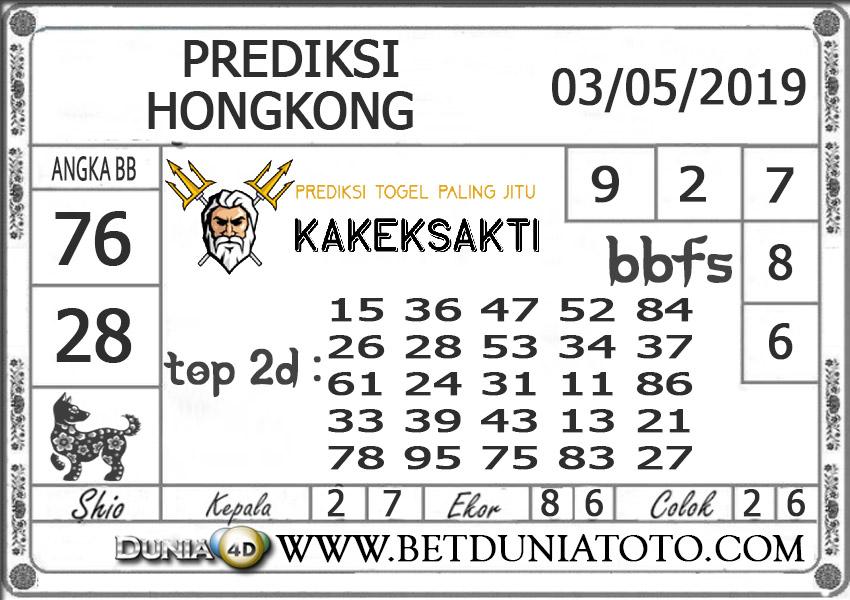 Prediksi Togel HONGKONG DUNIA4D 03 MEI 2019