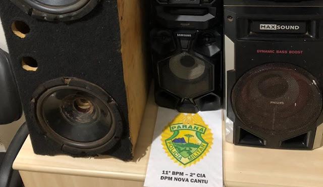 Nova Cantu: PM prende morador por perturbação da tranquilidade e posse irregular de munição