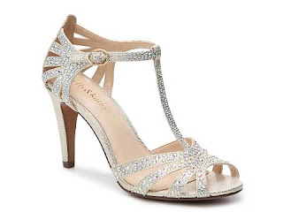 t bar straps silver glitter bridal shoes