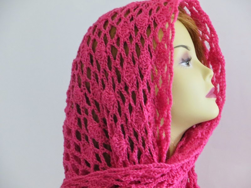Crochet Dreamz: Tyra Triangle Shawl, Free Crochet Pattern ...