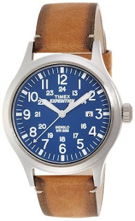 Timex TW4B01800 Mens Expedition Analog Elevated Tan Leather
