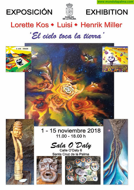 """Exposición de arte """"El cielo toca la tierra"""""""