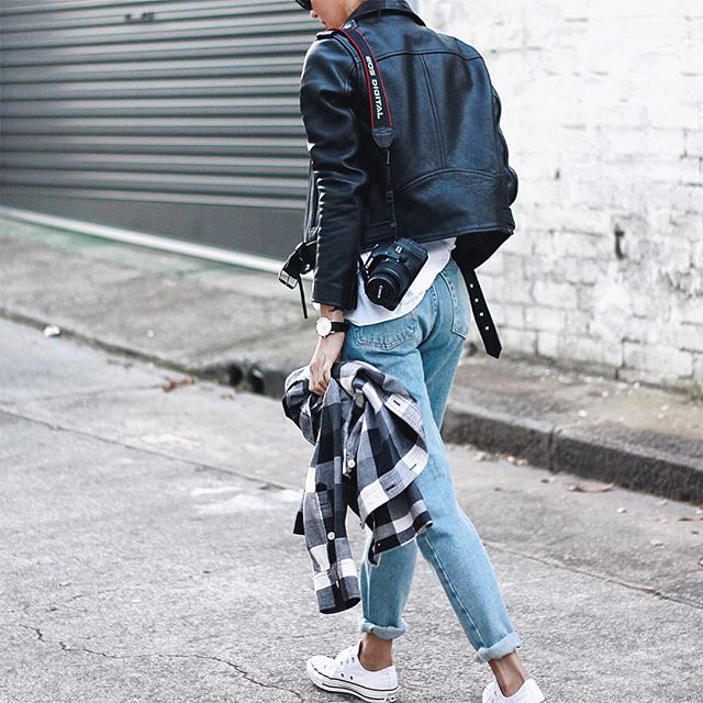 Fashion Inspiration - Pepamack by Cool Chic Style Fashion Denim & Comfy Sweaters, Blazer, Trench & Sneakers