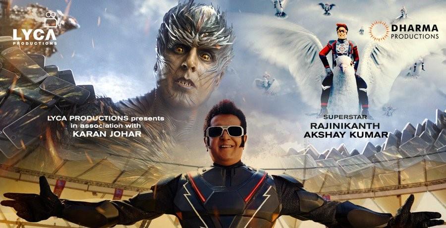 Super Star Rajinikanth's 2.0 Slows Down in Hyderabad!