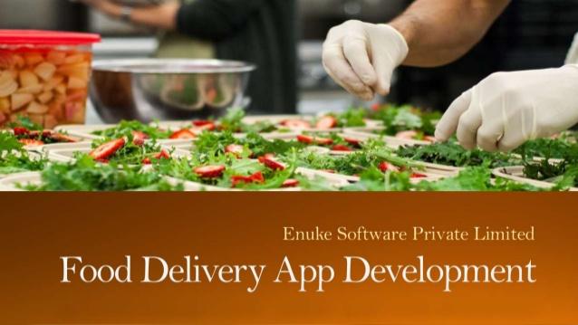 Food app development company