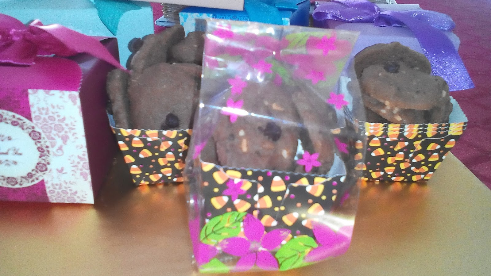Anika myrasa cookies doorgift goodies pack bajet for Idea door gift kahwin bajet
