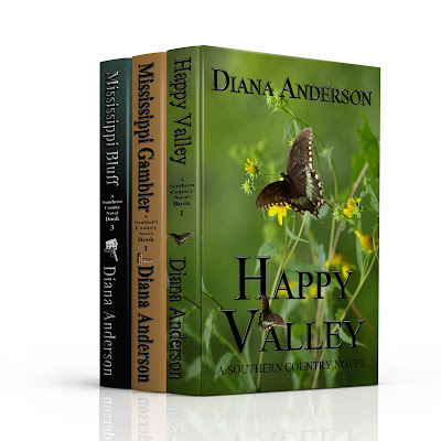 A Southern Country Novel Series Books 1-3: Boxed Set: Happy Valley, Mississippi Gambler, Mississippi Bluff