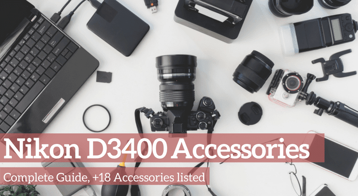 List of accessories for Nikon D3400