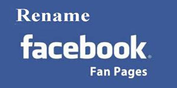 Luu y truoc khi doi ten fanpage facebook
