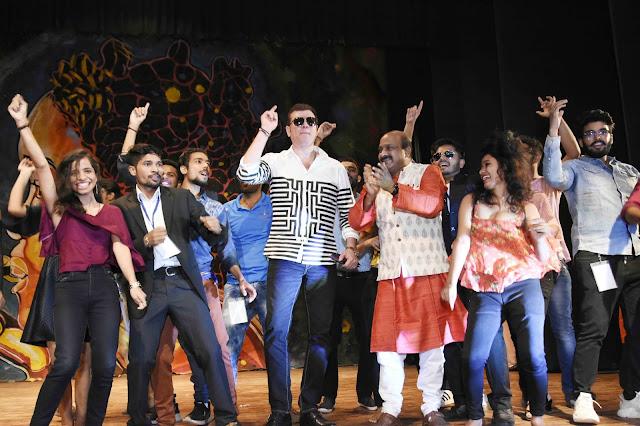 Zest-18's strong debut at Gyanjay University, actor Aditya Pancholi inaugurated
