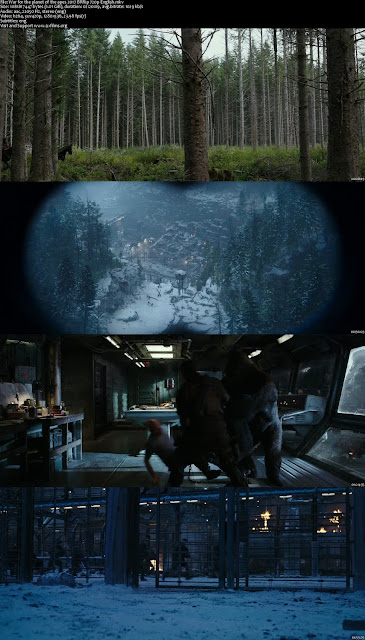 War for the Planet of the Apes 2017 BRRip 720p English