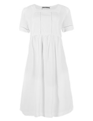 Marks and Spencer Square Neck Drop Waist Dress £39.50