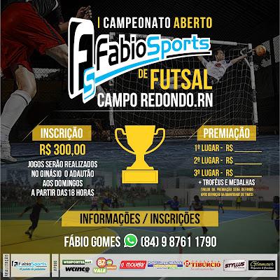 COPA DE FUTSAL - FABIO SPORTS