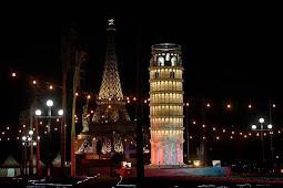 Menara Pisa Boyolali | Taman Tiga Menara
